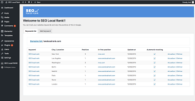 Seo Local Rank Wordpress
